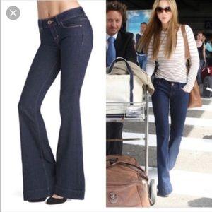 J Brand Lovestory Indigo Flare Jeans